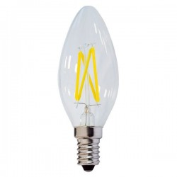 Optonica LED Filament Candle Bulb C35 E14, SP1472