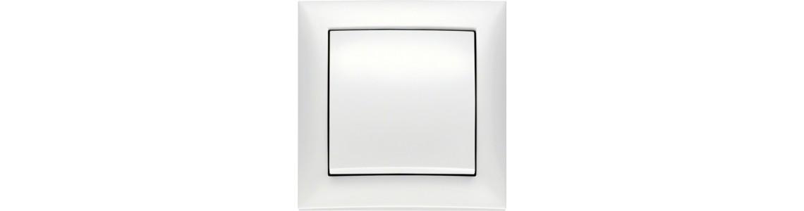Berker S.1 Plastic, polar white glossy