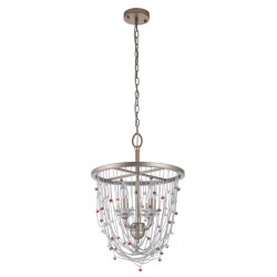 CHIARO chandelier with crystals Valencia 299012004