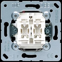 Jung 2-gang switch insert, 505U