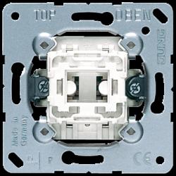 Jung 1-gang switch insert (1-pole, 2-way), 506U
