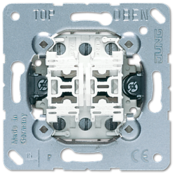 Jung 2-gang switch insert, 509U