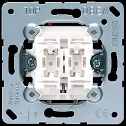Jung 2-gang push-button insert, 535U