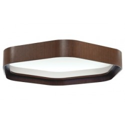 MILOO ELECTRONICS suspended lamp ART LIGHT, 120W, DALI, mP cover, 4000K, IP40, wenge