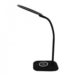 DeMarkt LED table lamp with wireless charger, dimmable, Techno Stuttgart 631036601