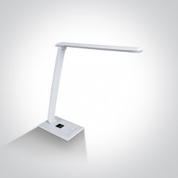 ONE LIGHT LED table lamp 7-step dimmable with USB, 61068/C