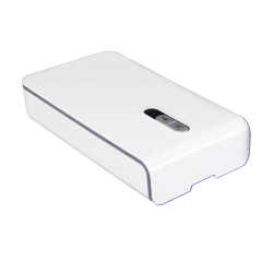 Portable Multifunction Box UVC - Wireless Charger, white