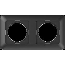 Vilma 2-gang frame, R02an