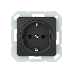 Vilma socket with earthing 16A/205V, RP16-002-02an