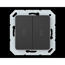 Vilma roller blind push buttons insert, P410-020-02an