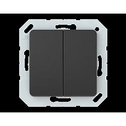 Vilma 2-gang switch insert, P510-020-02an