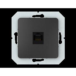 Vilma internet socket (1XRJ45 CAT5E UTP), KLRJ45-15e2-02an