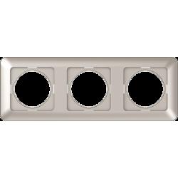 Vilma 3-gang frame, R03ch