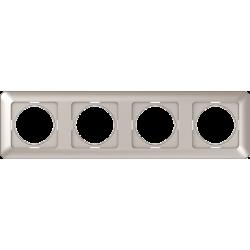 Vilma 4-gang frame, R04ch