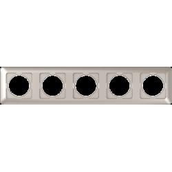 Vilma 5-gang frame, R05ch