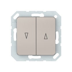 Vilma roller blind push buttons insert, P410-020-02ch