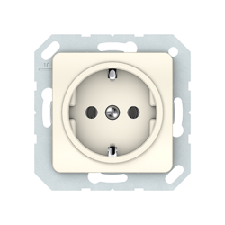 Vilma socket with earthing 16A/205V, RP16-002-02iv