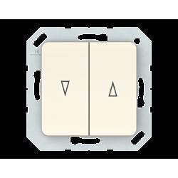 Vilma roller blind push buttons insert, P410-020-02iv