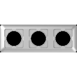 Vilma 3-gang frame, R03mt