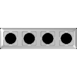 Vilma 4-gang frame, R04mt