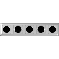 Vilma 5-gang frame, R05mt