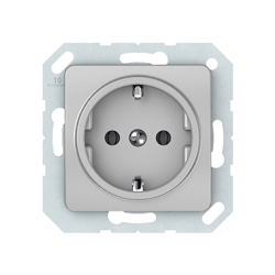 Vilma socket with earthing 16A/205V, RP16-002-02mt