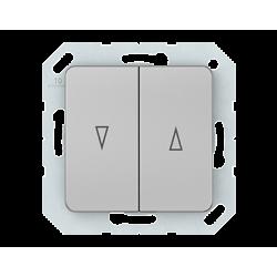 Vilma roller blind push buttons insert, P410-020-02mt
