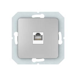 Vilma internet socket (1XRJ45 CAT5E UTP), KLRJ45-15e2-02mt
