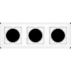 Vilma 3-gang frame, R03ww