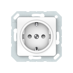 Vilma socket with earthing with child protection16A/205V, RP16-002-22ww