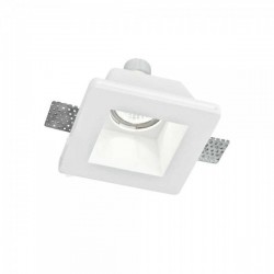 INTEC LIGHT recessed gypsum luminaire downlight GU10x1xmax35W, IP20, GHOST, INC-GHOST-Q1