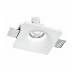 INTEC LIGHT recessed gypsum luminaire downlight GU10x1xmax35W, IP20, SENSO, INC-SENSO-1