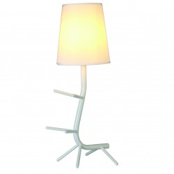 MANTRA table lamp 1xE27xmax20W, IP20, white, CENTIPEDE 7250