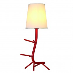 MANTRA table lamp 1xE27xmax20W, IP20, red, CENTIPEDE 7252