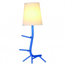 MANTRA table lamp 1xE27xmax20W, IP20, blue, CENTIPEDE 7253