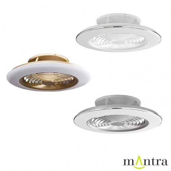 MANTRA ceiling fan LED, 70W, 4900lm, App/Remote, Alisio, 6707