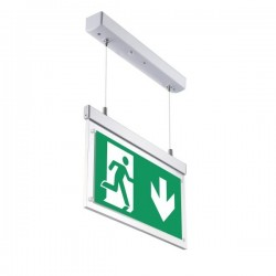 OPTONICA LED Hanging Emergency fixture LED, 3W, 6000K, 3h, IP20, 7204