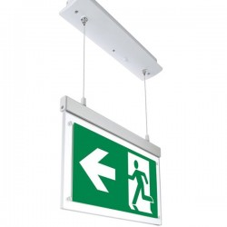 OPTONICA LED Hanging recessed Emergency fixture LED, 3W, 6000K, 3h, IP20, 7205