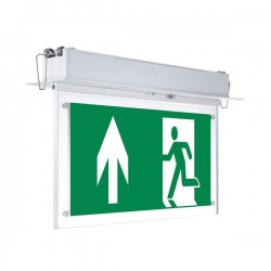 OPTONICA LED Recessed Emergency fixture LED, 3W, 6000K, 3h, IP20, 7206