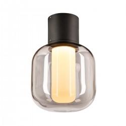 SLV outdoor ceiling light OVALISK CL, LED, 7.5W, CCT, 540lm, 1004677