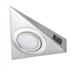 Kanlux under-cupboard light lixture with on/off switch ZEPO LFD-T02/S-C/M, 04386