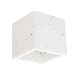 SPOT LIGHT Concrete wall lamp Block 2255137, white