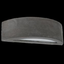 SPOT LIGHT wall light Block 8972136 , E27, 40W, grey
