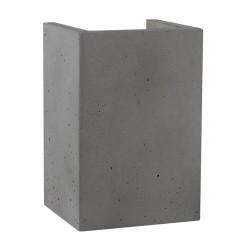 SPOT LIGHT Concrete wall lamp Block 8973236, grey