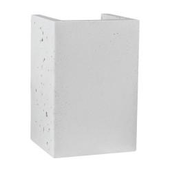 SPOT LIGHT Concrete wall lamp Block 8973237, white