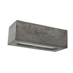 SPOT LIGHT wall light Block 8971136, E27, 40W, grey