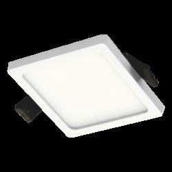 TOPE LIGHTING recessed LED luminaire SPLIT SQUARE 8W, 4000K, 461lm