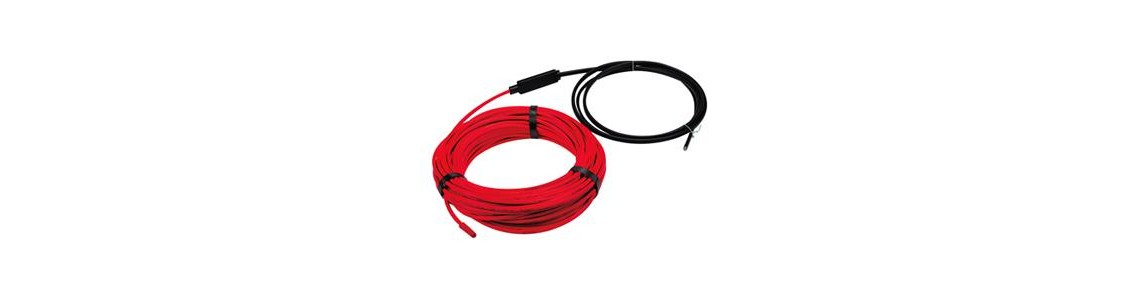 Indoor heating cables