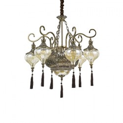 IDEAL LUX chandelier HAREM SP9, 116006