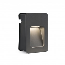 FARO outdoor recessed LED wall luminaire Nase-2 70399